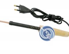 Электропаяльник ЭПСН 220/100 Вт деревянная ручка